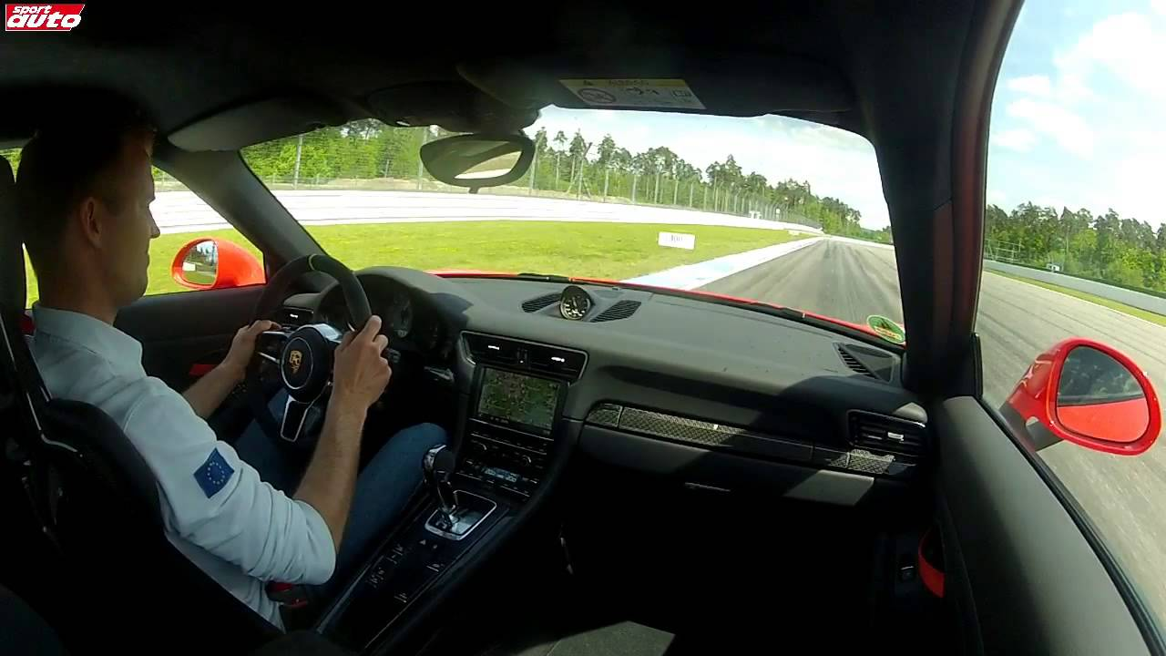 H porsche 911 gt3 rs 300 km h hockenheim onboard for H and r auto motors