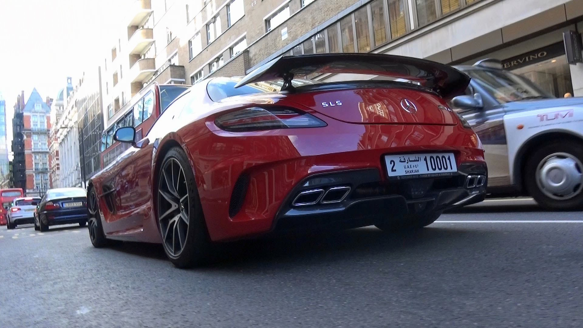 H mercedes sls amg black series for H and r auto motors