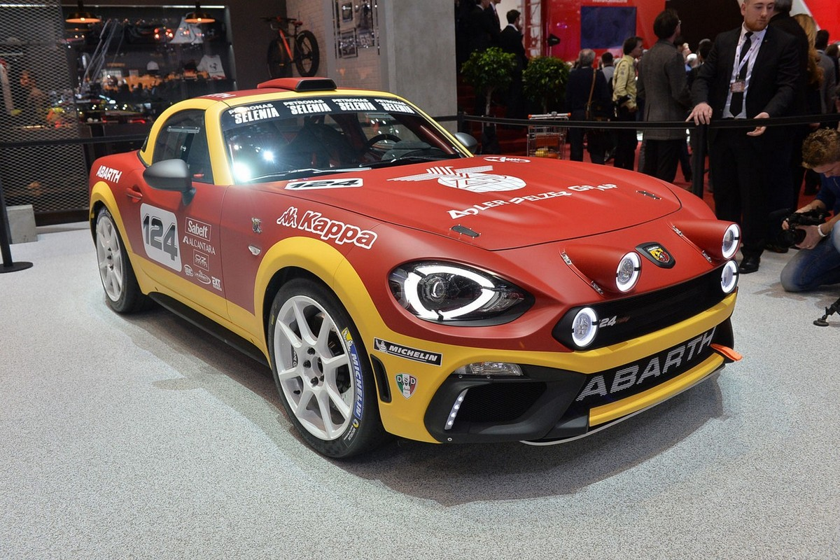 Abarth 124 Spider Rally ά ύ ύ