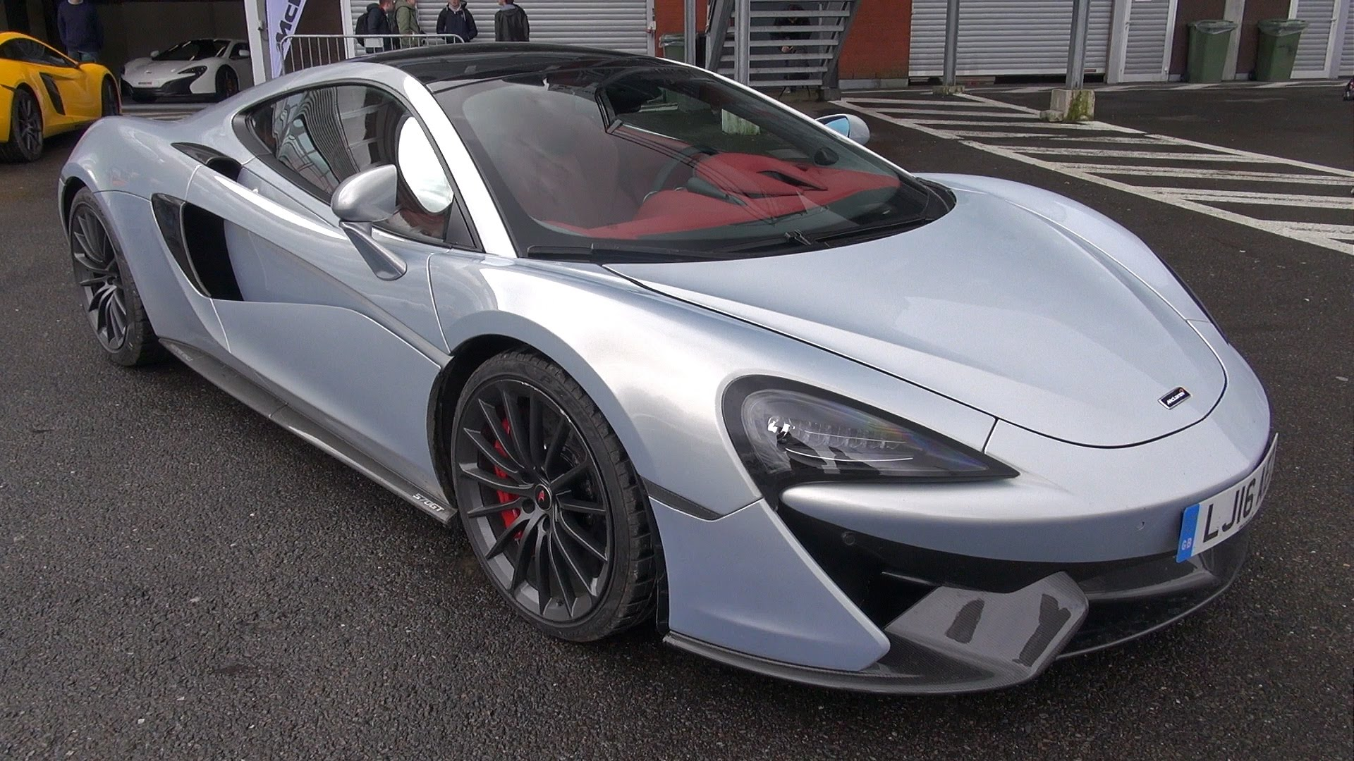 H 570gt prototype mclaren track day for H and r auto motors