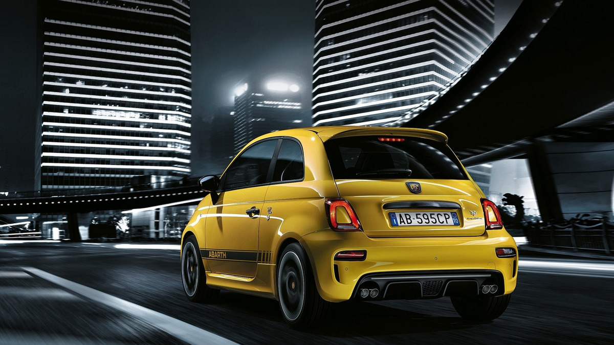 Abarth 595 facelif