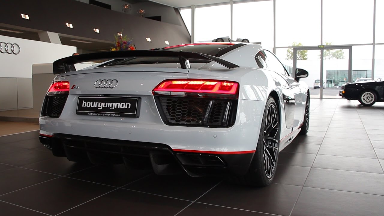 Audi r8 coupe v10 plus selection 24h for H and r auto motors