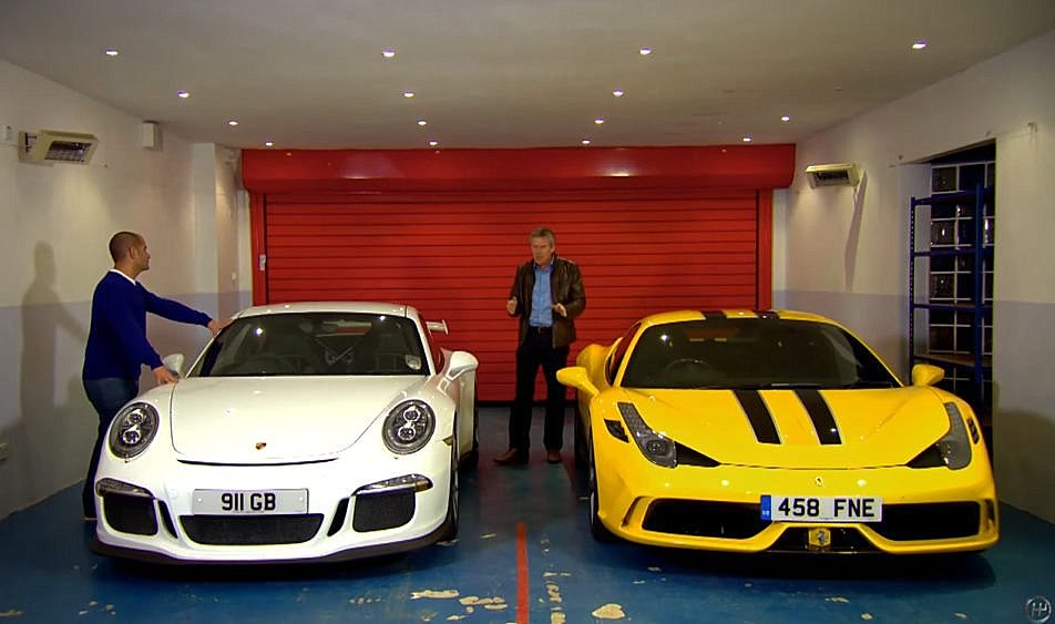 ferrari 458 speciale vs porsche 911 gt3. Black Bedroom Furniture Sets. Home Design Ideas