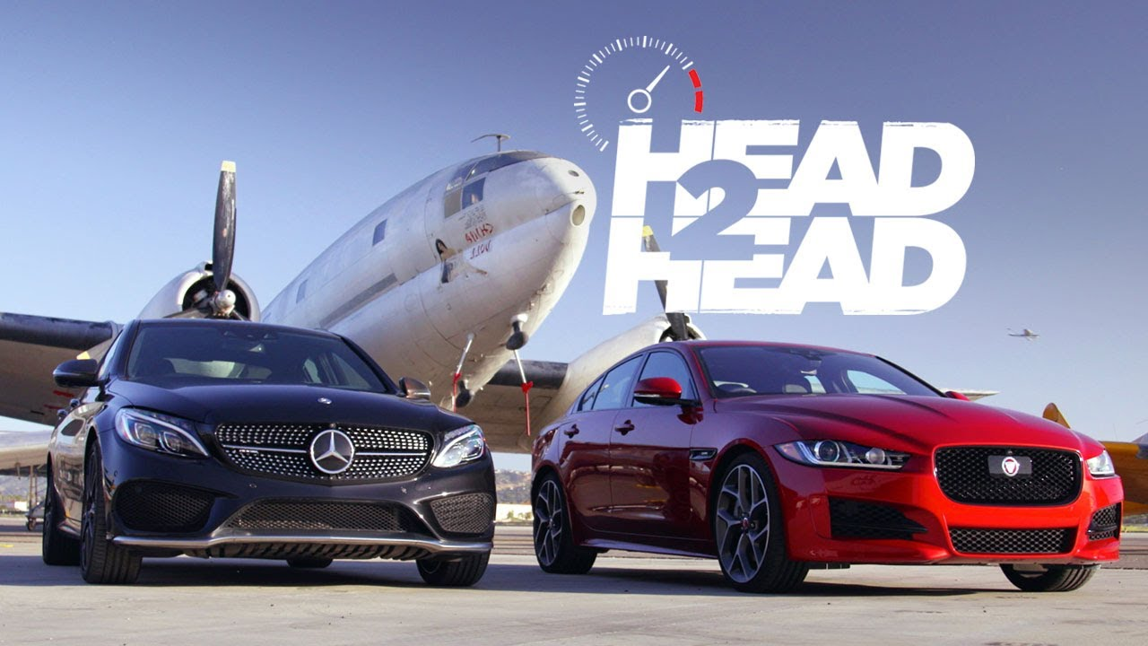 ό Jaguar Xe Vs Mercedes Amg C43 Automotors Gr