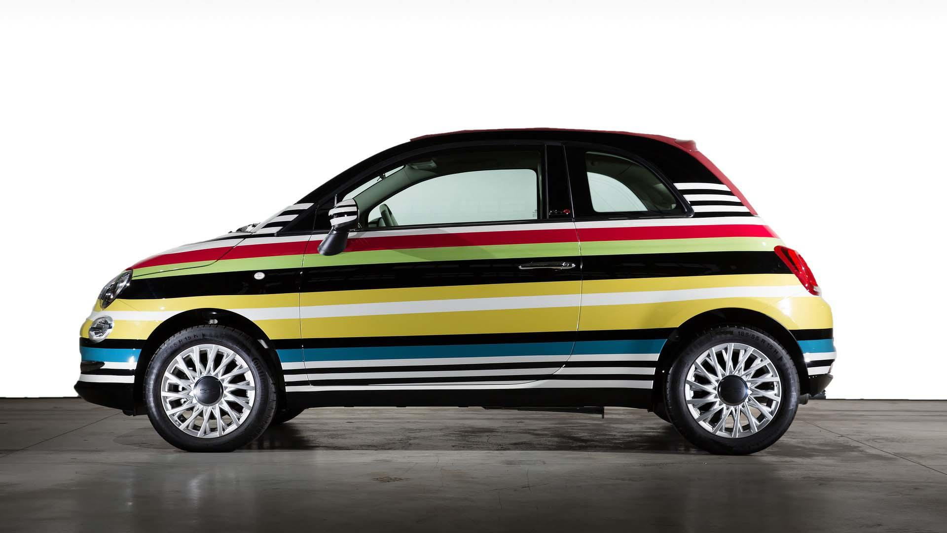 Fiat 500c by garage italia customs for Garage fiat 500