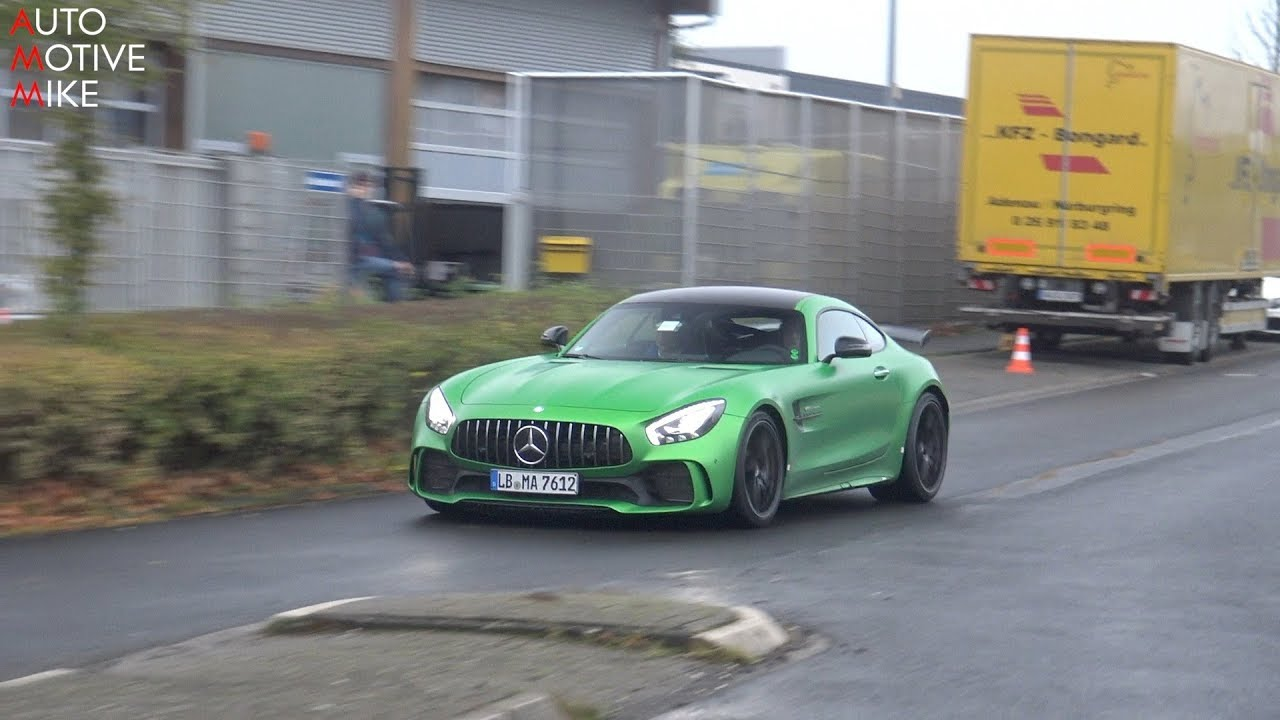 H mercedes amg gt r black series ring for H and r auto motors